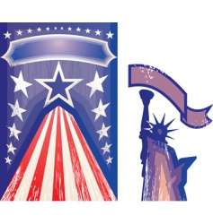 american card vector image vector image