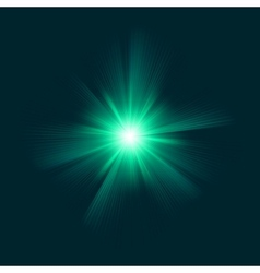 Blue green color design with a burst EPS 8 vector image vector image