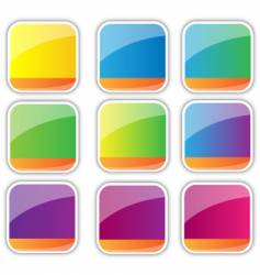 icon backgrounds vector image vector image