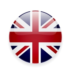 Round icon with flag of the UK vector image