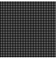 abstract white background with black polka dots vector image