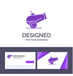 Creative business card and logo template canon vector