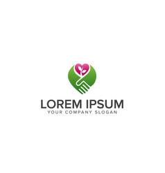 Logo design for business or website related vector
