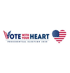 november 3 - presidential election 2020 in us vector image