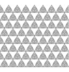 Seamless pattern line decoration abstract vector