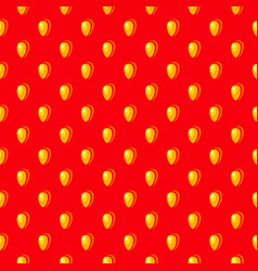 strawberry seed seamless background vector image