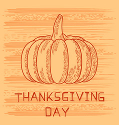 Thanksgiving day in united states of america vector