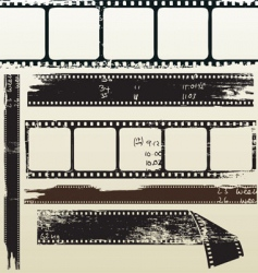 film grunge vector image vector image