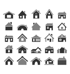 Home icon4 vector image vector image