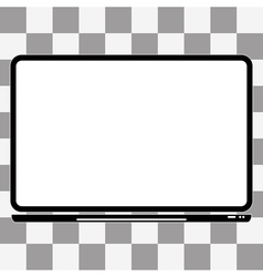 notebook Computer Icon a transparent vector image