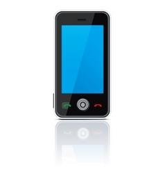 vector smart phone vector image