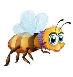 A big fat bee vector
