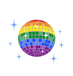 Disco ball icon disco ball icon vector