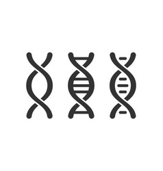 dna icon graphic design template isolated vector image