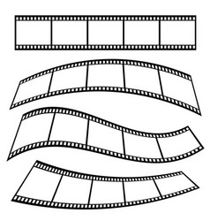 film tape roll movie vector image