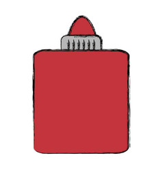 glue bottle cartoon vector image