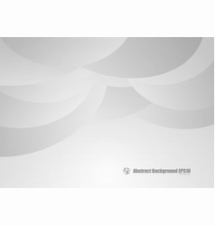 gray and white curve abstract background vector image