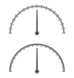 Icon of speedometer vector image