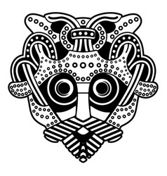 Mask odin the old norse image supreme vector