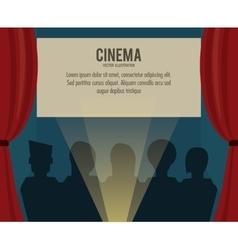 Theater movie film icon graphic vector