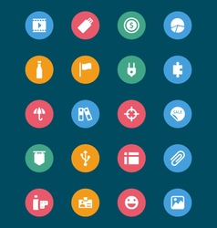 Web and Mobile Icons 6 vector image vector image