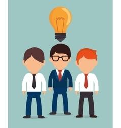 Business people cartoon vector image