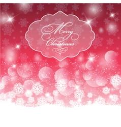 decorative christmas background 1511 vector image