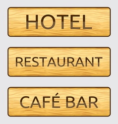 Hotelski znaci resize vector image