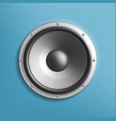 icon audio volume speaker vector image