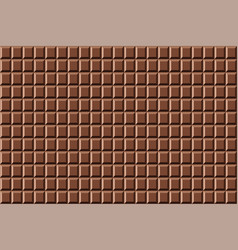 pattern sweet chocolate seamless texture vector image