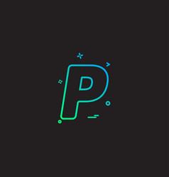 Paypal icon design vector