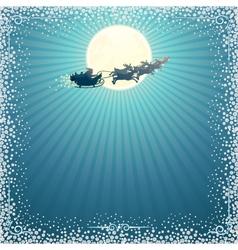 Santa Sleigh vector