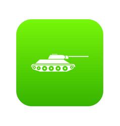 tank icon digital green vector image