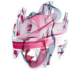 technological evolution time digital software vector image