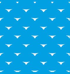Thongs pattern seamless blue vector