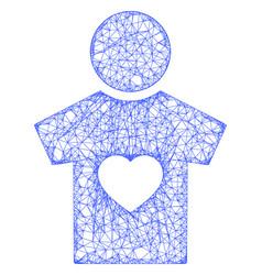 Web network boyfriend icon vector