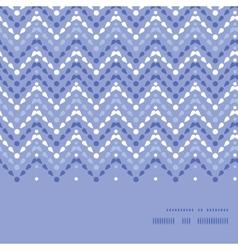 purple drops chevron horizontal frame vector image vector image