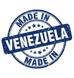 made in venezuela vector image