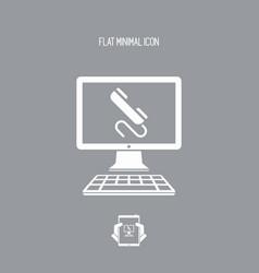 Call - website icon vector