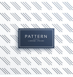 Clean diagonal line pattern background vector