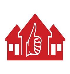 House ikona3 resize vector image