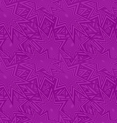 Purple seamless star pattern background vector