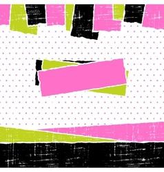 Torn scrach paper vintage background texture vector