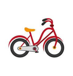 Vintage bicycle icon vector
