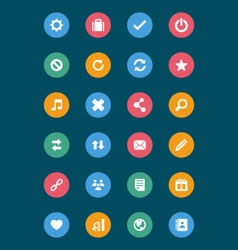 Web and Mobile Icons 2 vector