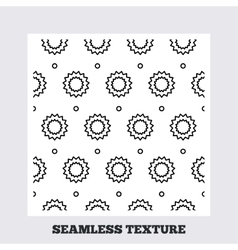 Stars stripped geometric seamless pattern vector image vector image