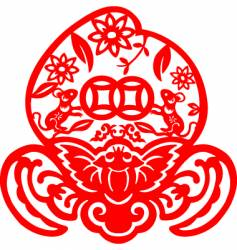 Chinese new year rat vector image