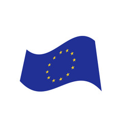 europe union graphic design template vector image