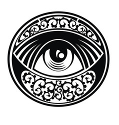 Eye of providence vector