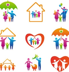 FamilySet vector image